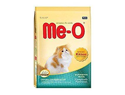 อาหารลูกแมวมีโอ สำหรับแมวเปอร์เซีย 400 กรัม (1 ถุง)